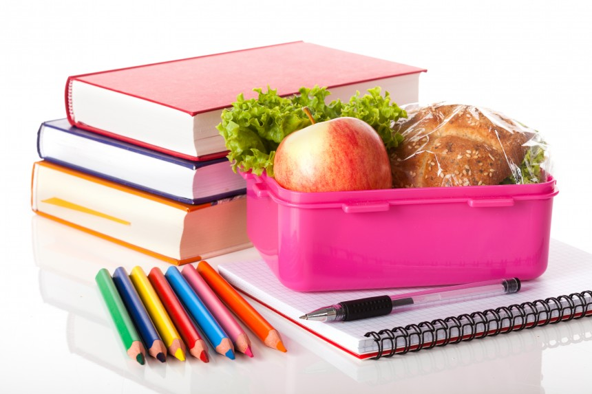Filling their school lunch box for fewer fillings