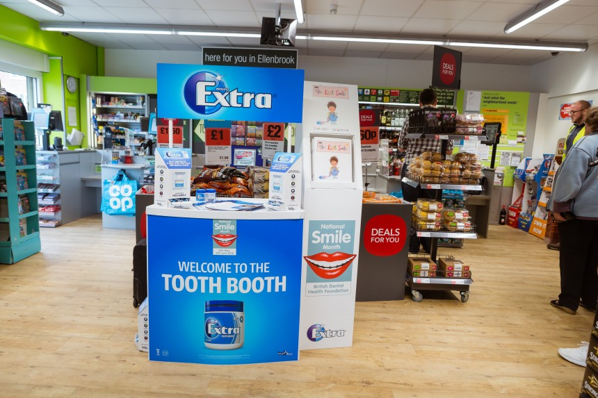 Dentists on TV as Wrigleys and Cooperative Food launch schools' initiative