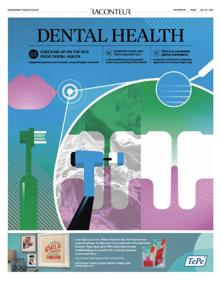 The Dental Health Special Report Published in The Times
