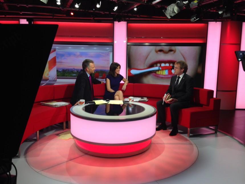 Teeth Whitening on BBC Breakfast TV