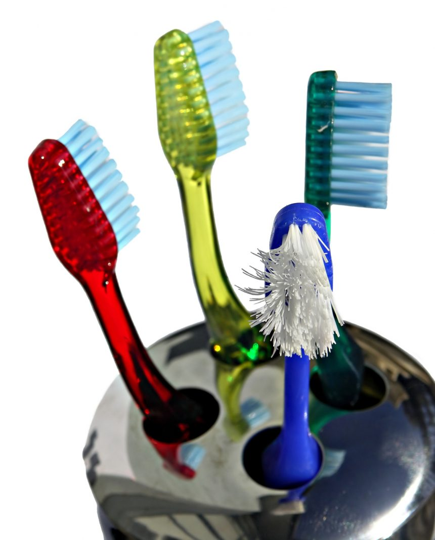 Changing your toothbrush